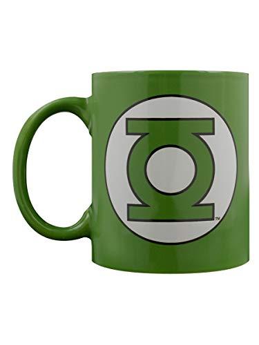 DC Comics Green Lantern Logo Mug en céramique Multicolore