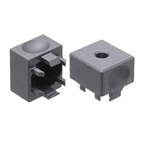 WULE-RYP Plata/Negro/Azul/Gris/Naranja KeyCaps mecánico KeyCaps de aleación de Aluminio Interruptor de interruptores de Metal al Instante para los interruptores de Cereza (Color : Gray)