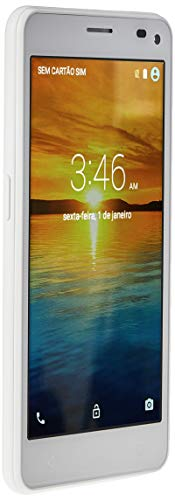 Smartphone Ms50 Colors Branco 5 Pol. 8.0Mp 3G Quad 8Gb 5.0 Multilaser - NB256