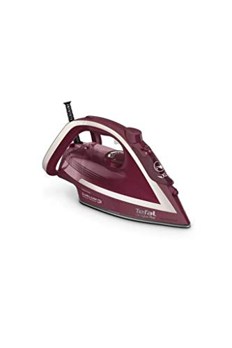 Tefal Ultragliss Plus FV 6820 - Plancha de vapor, color rojo