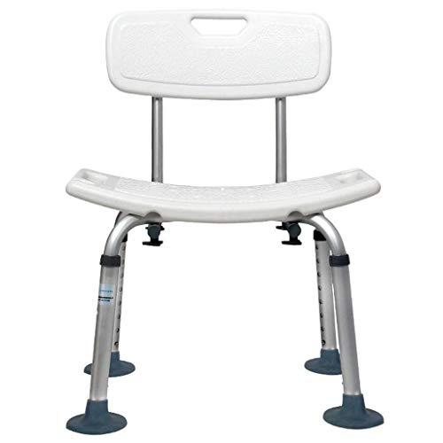 ROSSLBF Badezimmer Sicherheits-Duschwanne Bank-Stuhl mit Rücken
