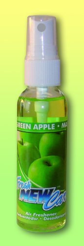 Fresh New Car Spray Raumspray - grüner Apfel 60ml Autoduft Raumduft (4,15 EUR/100ml)
