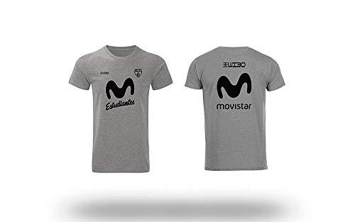 Movistar Estudiantes Camiseta Gris entreno Temporada 19/20