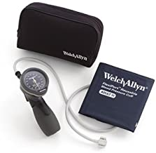 Welch Allyn 5098-27 Gauge and FlexiPort One Piece Cuff and Nylon Zipper Case, Adult