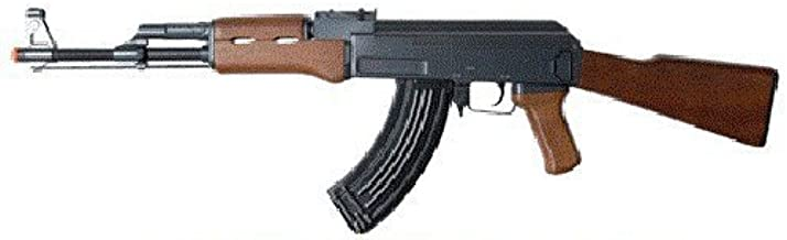 double eagle full auto electric metal aeg ak-47 rifle fps-350 airsoft gun(Airsoft Gun)