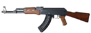 double eagle full auto electric metal aeg ak-47 rifle fps-350 airsoft gun Airsoft Gun