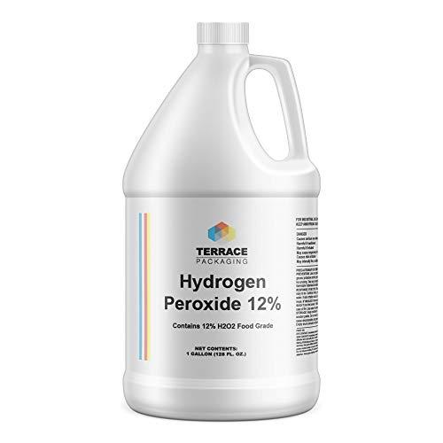 Hydrogen Peroxide 12%, Food Grade, 1-Gallon