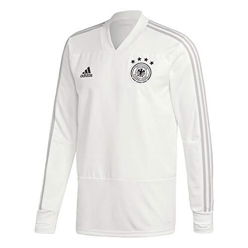 adidas Herren DFB Training Top, White/Grey Two f17/Black, 2XL