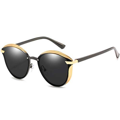 Gafas de Sol Sunglasses Gafas De Sol Polarizadas Clásicas para Hombres Gafas De Diseñador Uv400 Blackgray
