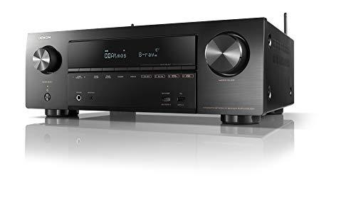 デノン Denon AVR-X1600H AVサラウンドレシーバー 7.2ch Dolby Atmos Height Virtualizer /ブラック AVR-X1600HK
