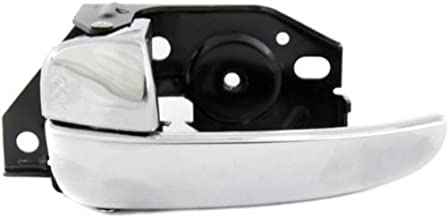 Make Auto Parts Manufacturing - DRIVER SIDE FRONT INNER DOOR HANDLE; CHROME; WITH THEFT DETERRENT - HY1352106