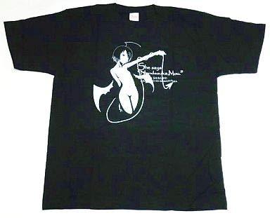 [単品] 白石なごみ なごみTシャツ Lサイズ BLACK 「feng C74 あかね色に染まる坂 夏コミセット」