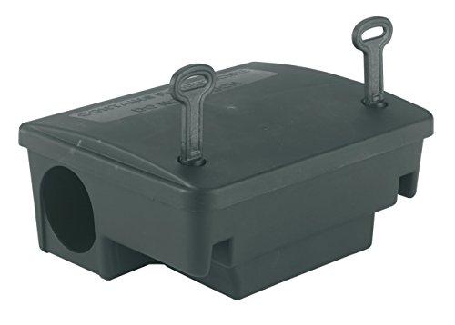 Kerbl 299636 Köderstation Blocbox Beta, 22.5 x 18.5 x 9.5 cm, gegen Ratten 22,5 x 18,5 x 9,5 cm