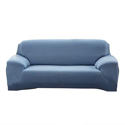 MINGPINHUIUS Fundas sofá, Fundas para Sofa de 1,2,3 Plazas, Sofa Cover Deslizantes Protección de Muebles-Fundas Elásticas de...