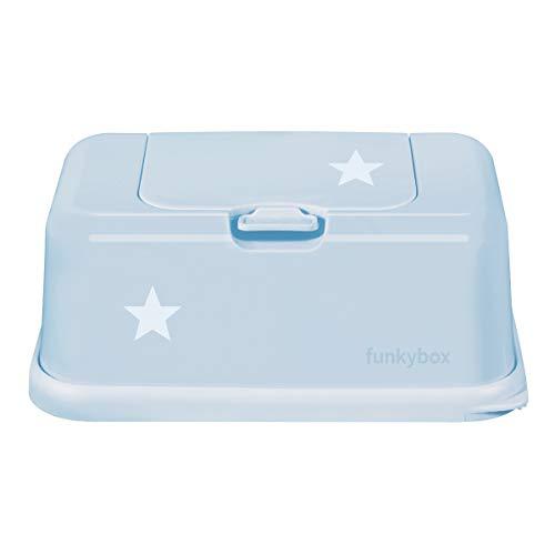 funkybox FB42 Feuchttücher Aufbewahrungsbox Sternchen puderblau