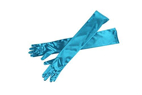Utopiat Audrey diseñó guantes de ópera Holly Golightly largos hasta el codo...