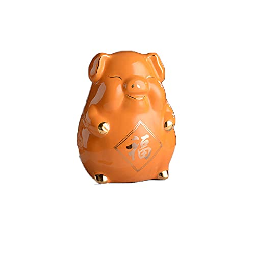 Spargris kortbetalning gris gris spargris kan bara inte komma in i keramik – orange liten station gris [?C] kan aktiveras