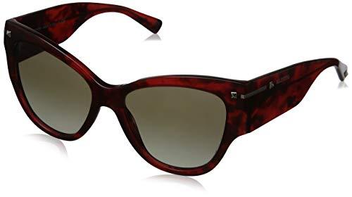 Valentino 0VA4028 50208E 55 Gafas de sol, Rojo (Havana Red/Gradientgreen), Mujer