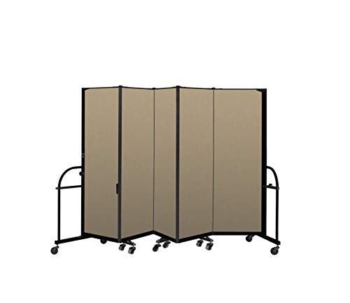 Review Screenflex Heavy Duty Portable Room Divider (HFSL605-DW) 6 Feet High by 9 Feet 5 Inches Long,...