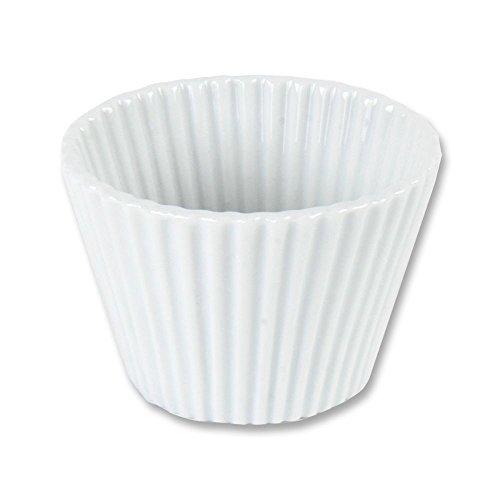 12 x Cupcake Form aus Porzellan Muffinform Souffleform