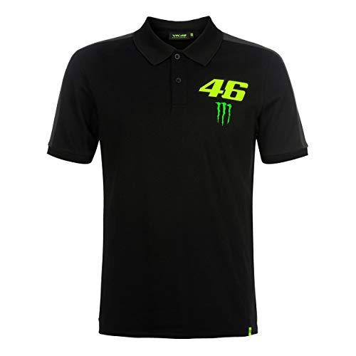 Valentino Rossi Monster Dual, Men's Polo, Black, M
