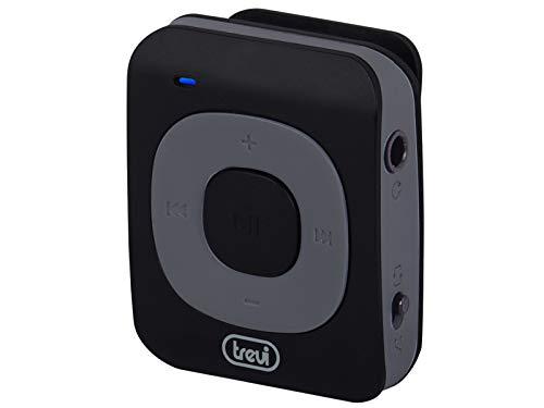 Trevi MPV 1704 SR Mini Lettore Mp con Clip a Molla, Slot MicroSD, Batteria Ricaricabile, Nero, (0M170400)