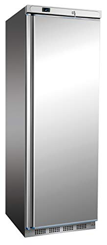 Edelstahl Tiefkühlschrank 400 Liter Kühlschrank Gefrierschrank Kühltruhe Gefrierer Edelstahlkühlschrank Gastonomietiefkühlschrank 600x585x1850 mm