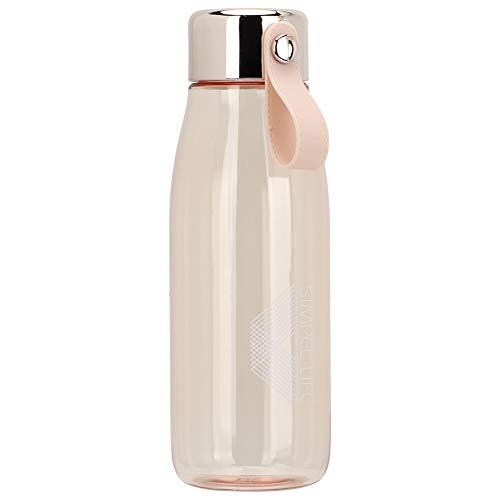 Stilvolle Trinkbecher Wasserflasche 480ml Mehrzweck für die Schule für Reisen(Khaki)