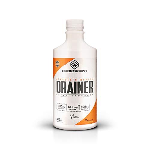 ROCKSPRINT   DRENANTE Y DIURÉTICO   Retención de Líquidos   Drainer   600 ml Limón