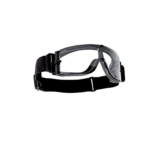 Bolle X800I Ultra-Ventilated Nylon Goggle, Black