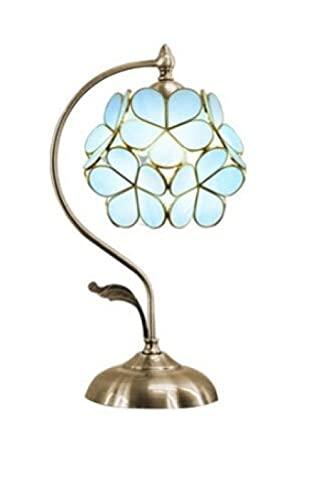 Dream Titi Ni Lámpara de mesa Cama de dormitorio Faro Decoración de ojos Iluminación Lámpara de base de metal creativo-Lámpara de mesa creativa retro