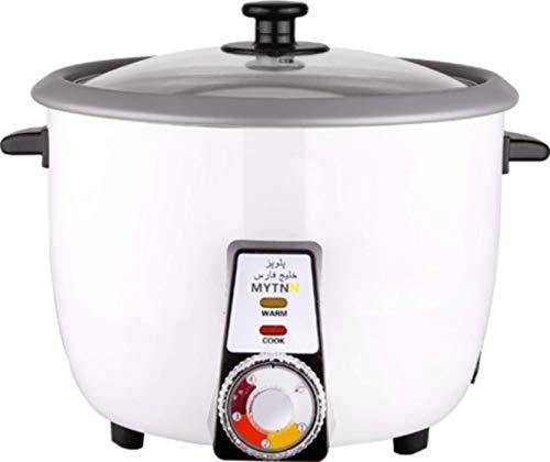 Reiskocher voll Automatisch mit Reiskruste Funktion für 8 bis 10 Personen Tahdig polopaz Rice cooker mit Warmhaltung Funktion TOP Qualität (2.2 Liter für 8 bis 10 Personen)
