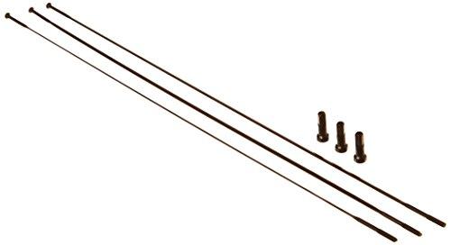 Zipp - Repuesto Radios (Rectos)+Cabecillas -Sapim Cx-Ray Neg
