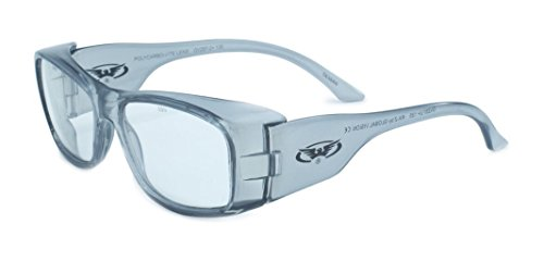 Global Vision Eyewear RX Safety Series RX-Z in Clear ANSI Z87.1-2010 Standards