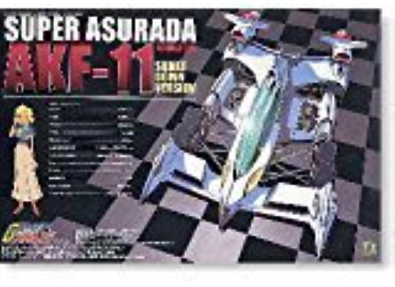 1 24 Cyber Formula No.09 Super Asurada AKF11 (Shakedown version only) (japan import)