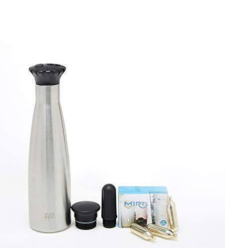 [SodaBono] Portable Carbonated Sparkling Water Maker_ 0.8L capacity (Cylinder 1EA)