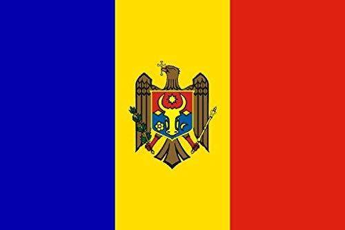UB Fahne/Flagge Moldawien 90 cm x 150 cm Neuware!!!