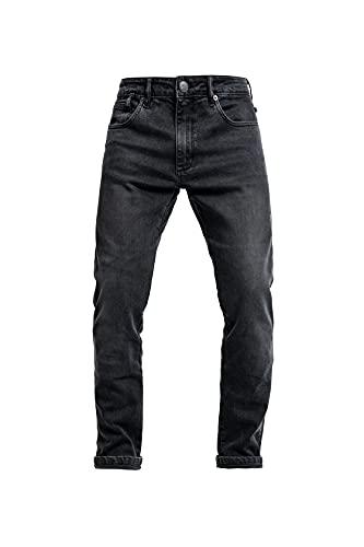 John Doe Pioneer - Monolayer   CE - Zertifizierung AAA   Motorradhose   Atmungsaktiv   Motorrad Jeans   Denim Jeans mit Stretch   Mit Protektoren
