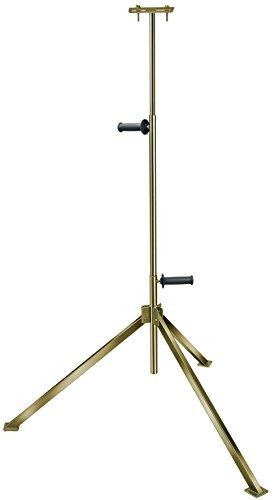 Brennenstuhl Stativ für Baustrahler / stabiles Teleskop-Stativ für Fluter (zur Aufnahme von 1 Strahler, höhenverstellbar bis 2,5 Meter)