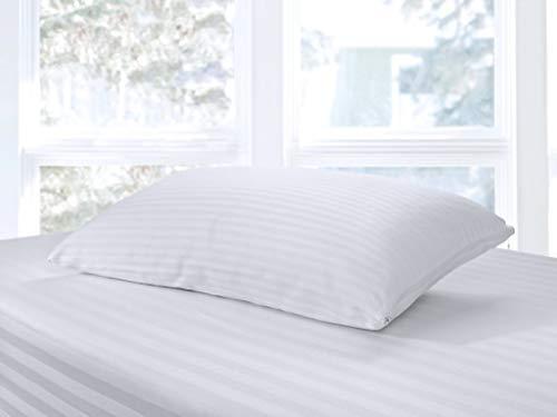 Schlafkissen, Kopfkissen LABRADO Füllkissen, 11 GRÖßEN, Doppelter Bezug, EPS-Perlen TOXPROOF®, Größe:40x80 cm