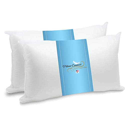 Pillow connect King Size Pillows for Sleeping Pack of 2, Hotel Quality for Side Sleepers (20, 36