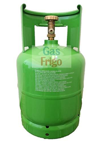 Bombola Vuota ricaricabile 7 lt per tutti i tipi di Gas Refrigerante