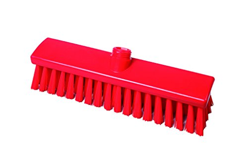 Maya Professional Tools 15023-3 Mittelharter Besen FBK/Lebensmittelhygiene, 300 mm x 60 mm, Rot