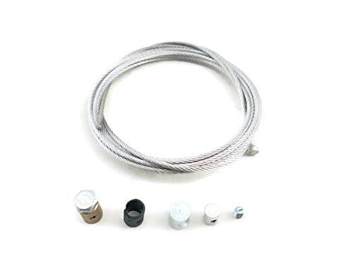 LINMOT Res Reparatursatz (Repair Kit) Seil Kupplungszuge, Schwarz