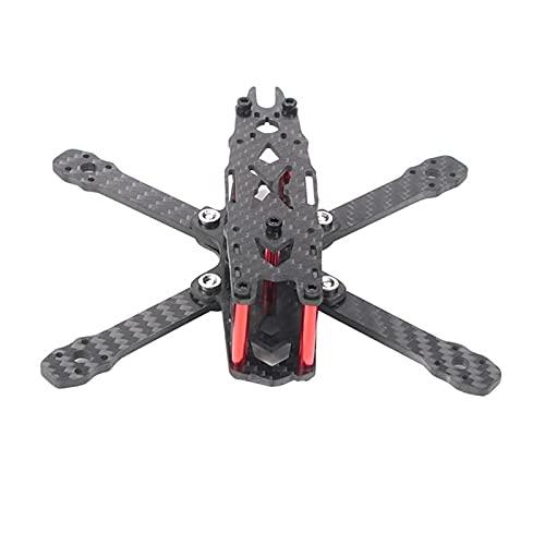 DingPeng 135mm WheetBase Mini. FPV. Kit Cornice in Fibra di Carbonio CF. Rack for DIY 3. Pop Prop 1103/1104/1305. FPV Racing Drone Quadcopter Accessori Ricambi