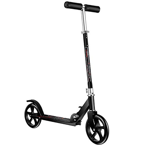 Folding Adult Scooters - Height Adjustable Stem - Protable Two Rounds Scooters for Adults and Teens