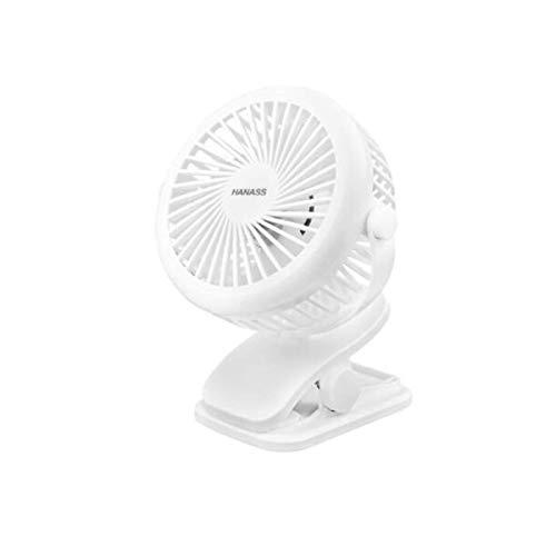 Allamp Ventilador USB multifunción eléctrico, Ventilador de mesa, ventilador de oficina, Estudiante dormitorio de noche, ventilador de escritorio, ventilador de pared, móvil mini ventilador (Color: Bl
