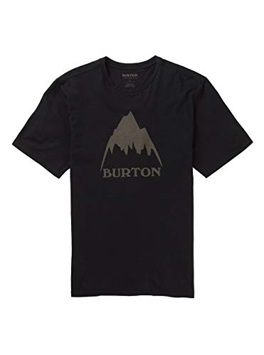 Burton Herren Classic Mountain High T-Shirt, True Black, M