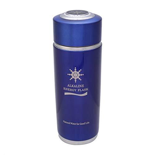 Okuyonic Botella de Agua alcalina Botella de Equilibrio Nano portátil para Picnic(Blue)