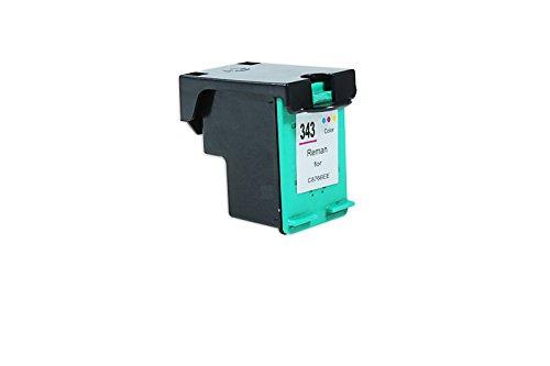Recycelt für HP DeskJet 460 CB Tinte Color - Nr.343 / C8766EE - Inhalt: 22 ml